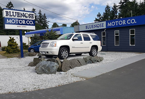 Welcome to Bluenose Motor Company, your Oceanside destination for quality pre-owned vehicles, and warranty approved service!